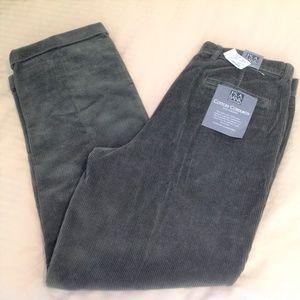 Joseph A Bank Men's Corduroy Pants NWT Green 38x32